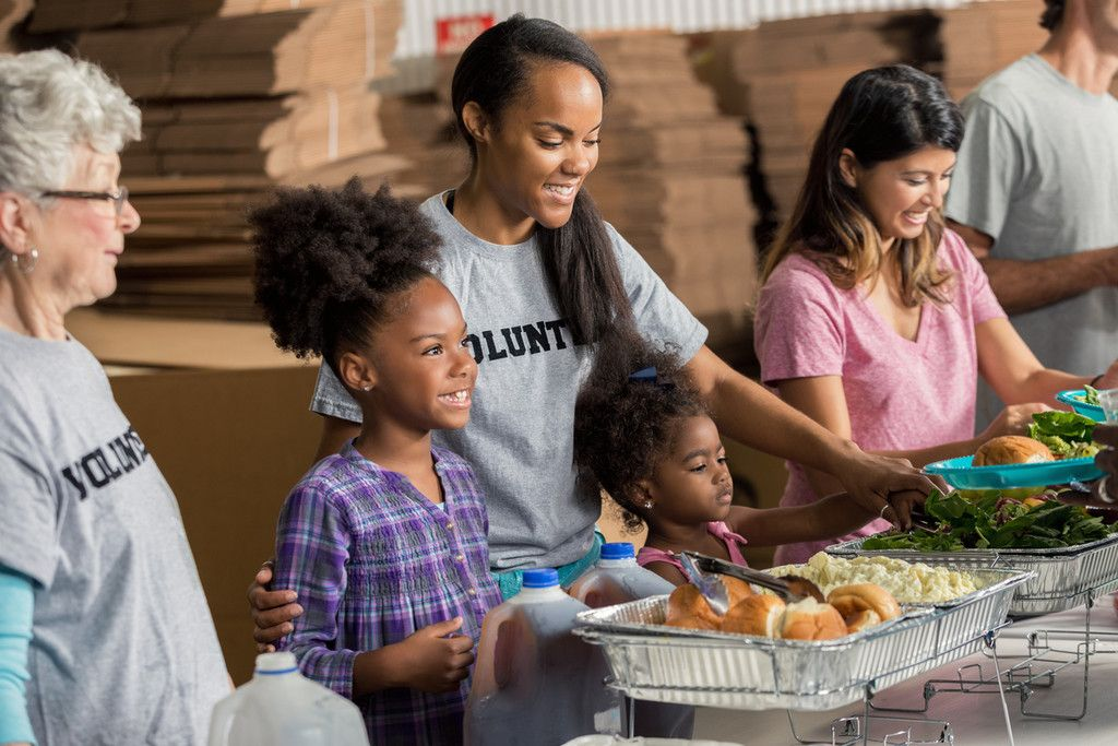 Volunteer at a soup kitchen Employee engagement