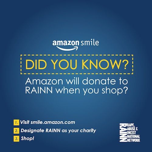 Did You Know Supporting Rainn Is As Easy As Shopping Amazon Com