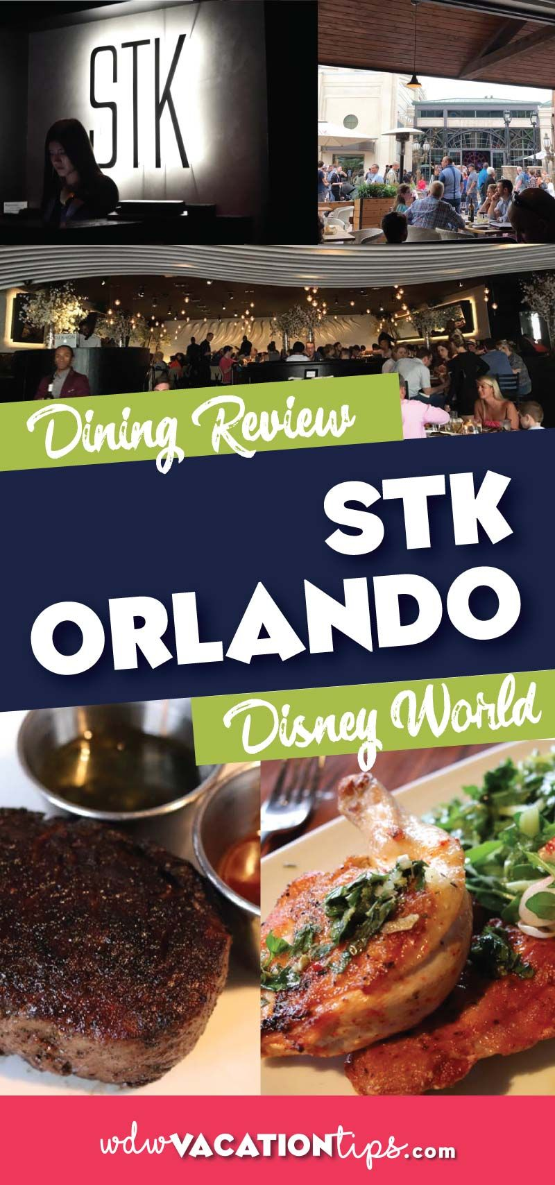 Stk Is Located Directly Across From The Edison At Disneysprings In Walt Disney World