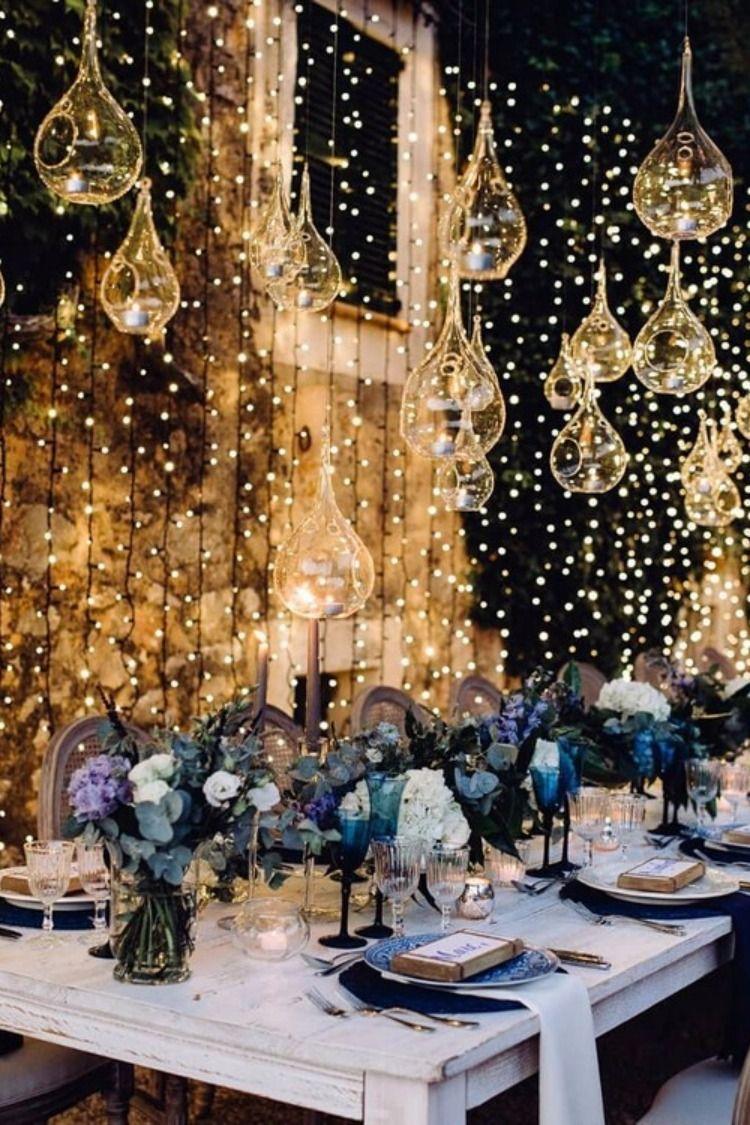 Top 20 Wedding Lighting Ideas You Can Steal Weddings Decorations Elegant Romantic Wedding Lights Wedding Reception Lighting