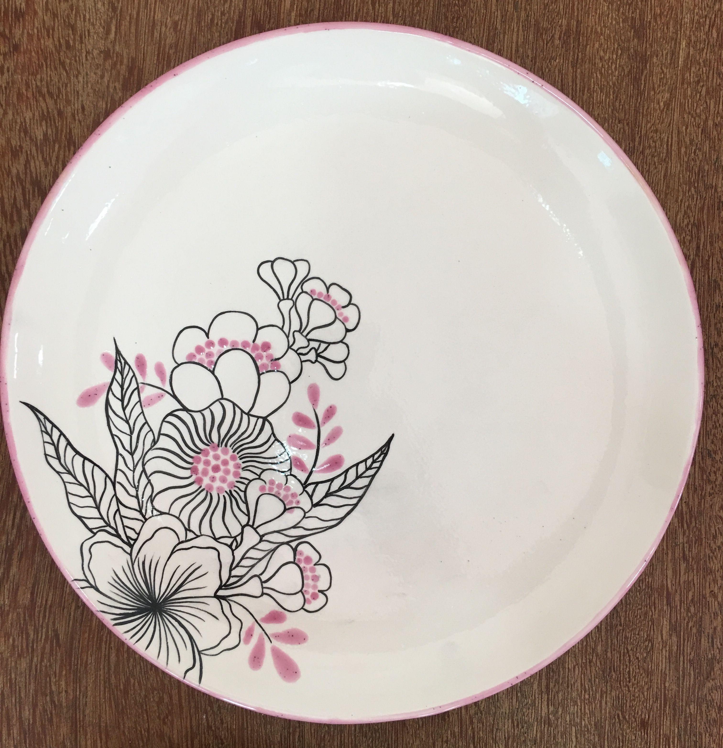 Peinture Sur Porcelaine Assiette assiettes | peinture sur céramique
