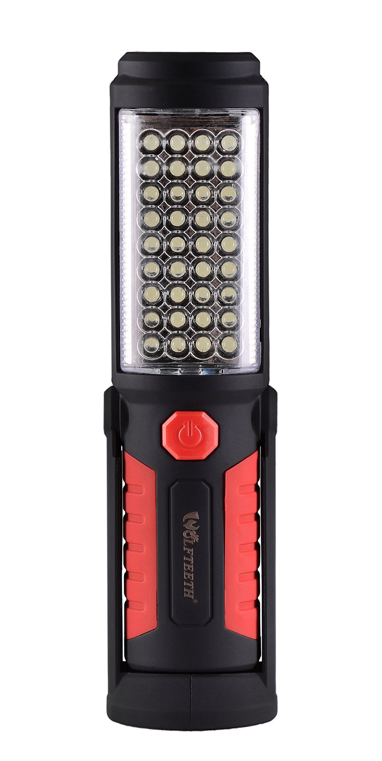Wolfteeth 36+5 LED Torch Inspection Lamp Camping Light,Hands-Free Garage for and