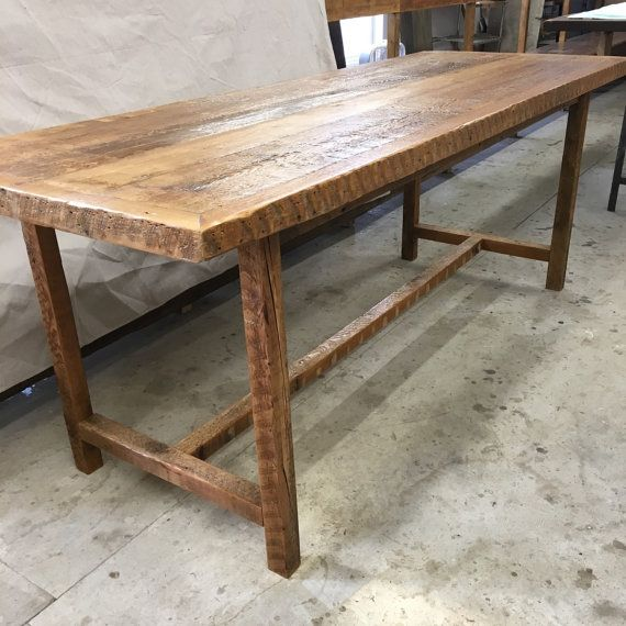Latest Reclaimed wood dining table with basekitchen table Model - Latest refurbished wood table Luxury