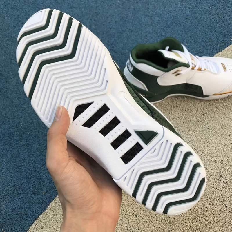 Nike Air Zoom Generation QS SVSM LeBron James LBJ1 White Gold Green Shoes  AO2367-100 c3c328931
