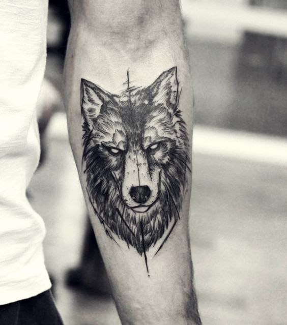 40 Masculine Wolf Tattoo Designs For Men Wolves Wolf