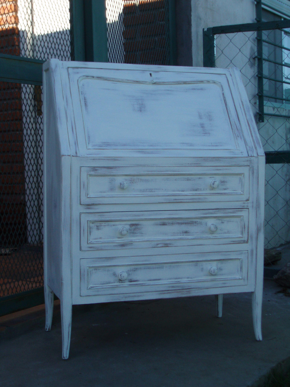 Blanco Decapado Muebles Patinados Pinterest Muebles  # Muebles Patinados En Blanco