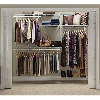Amazon.com: Deluxe Pants U0026 Shelf Hanger   Clothing Rack   Closet Organizer: