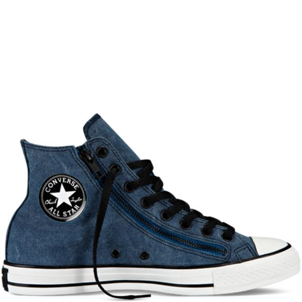 Chuck Taylor All Star Double Zip Converse | Converse shoes
