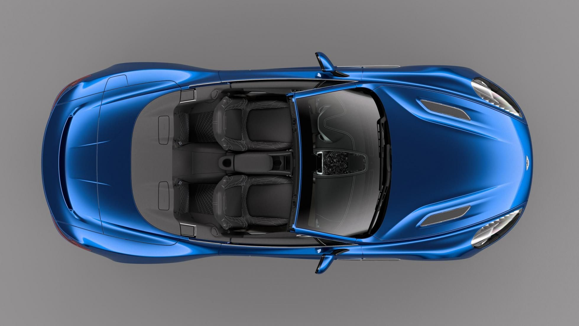 Aston Martin have unveiled their brand new convertible supercar