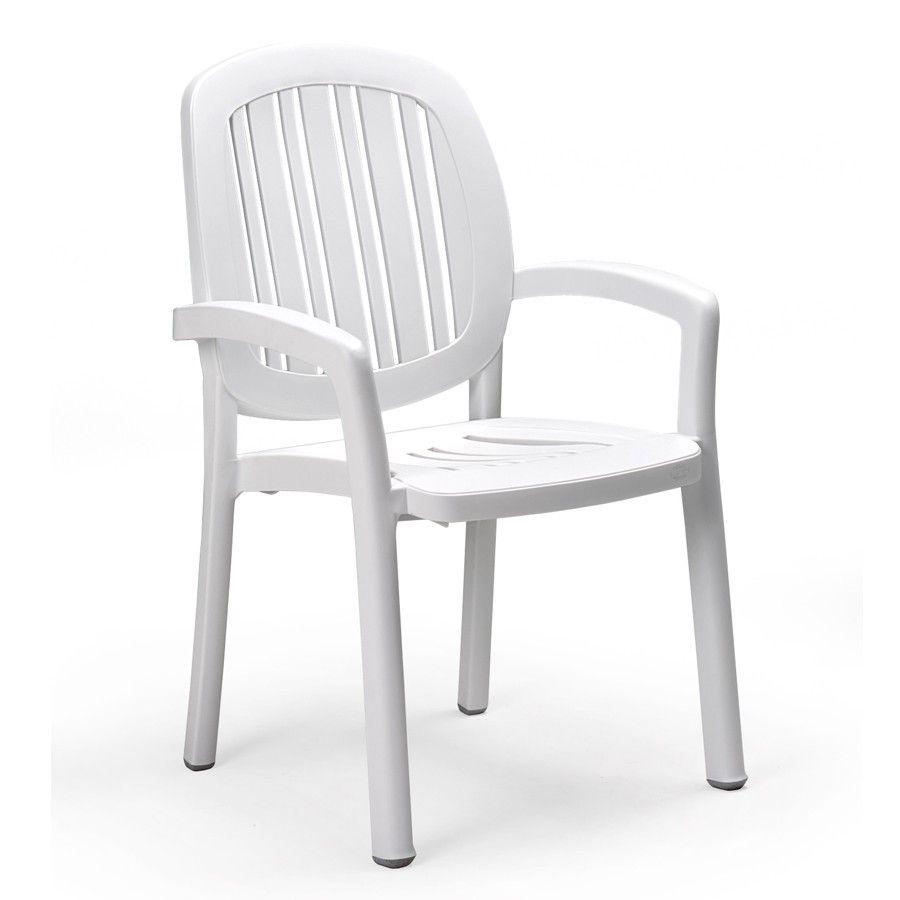 Sedie Da Giardino Bianche.Sedia Ponza Nardi Sedie Bianche Tavolo E Sedie Da Giardino E