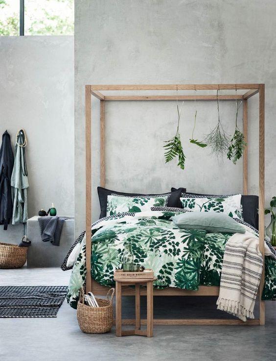 Botanisches Schlafzimmer   Alles Was Du Brauchst Um Dein Haus In Ein Zuhause  Zu Verwandeln |