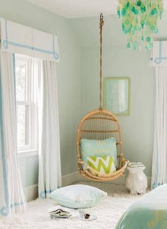 corner hanging curtains - Google Search