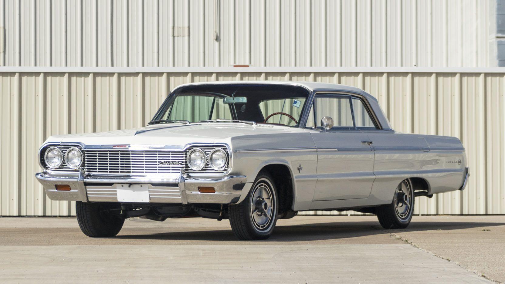 1964 Chevrolet Impala Ss Presented As Lot F163 At Dallas Tx Impala