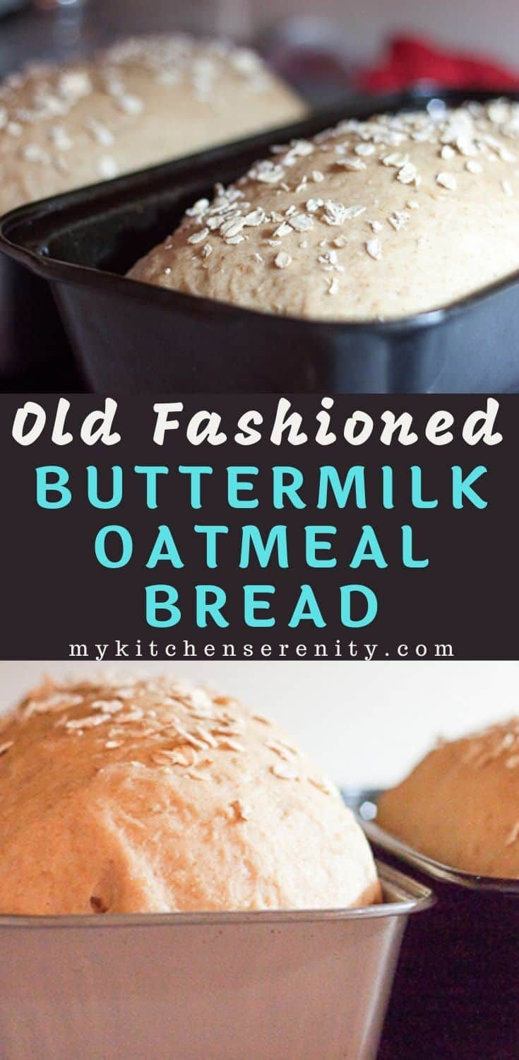 A Classic Homemade Oatmeal Bread Made With Flour Yeast Rolled Oats Buttermilk And Brown Sugar Light In 2020 Oatmeal Bread Homemade Oatmeal Bread Recipes Homemade