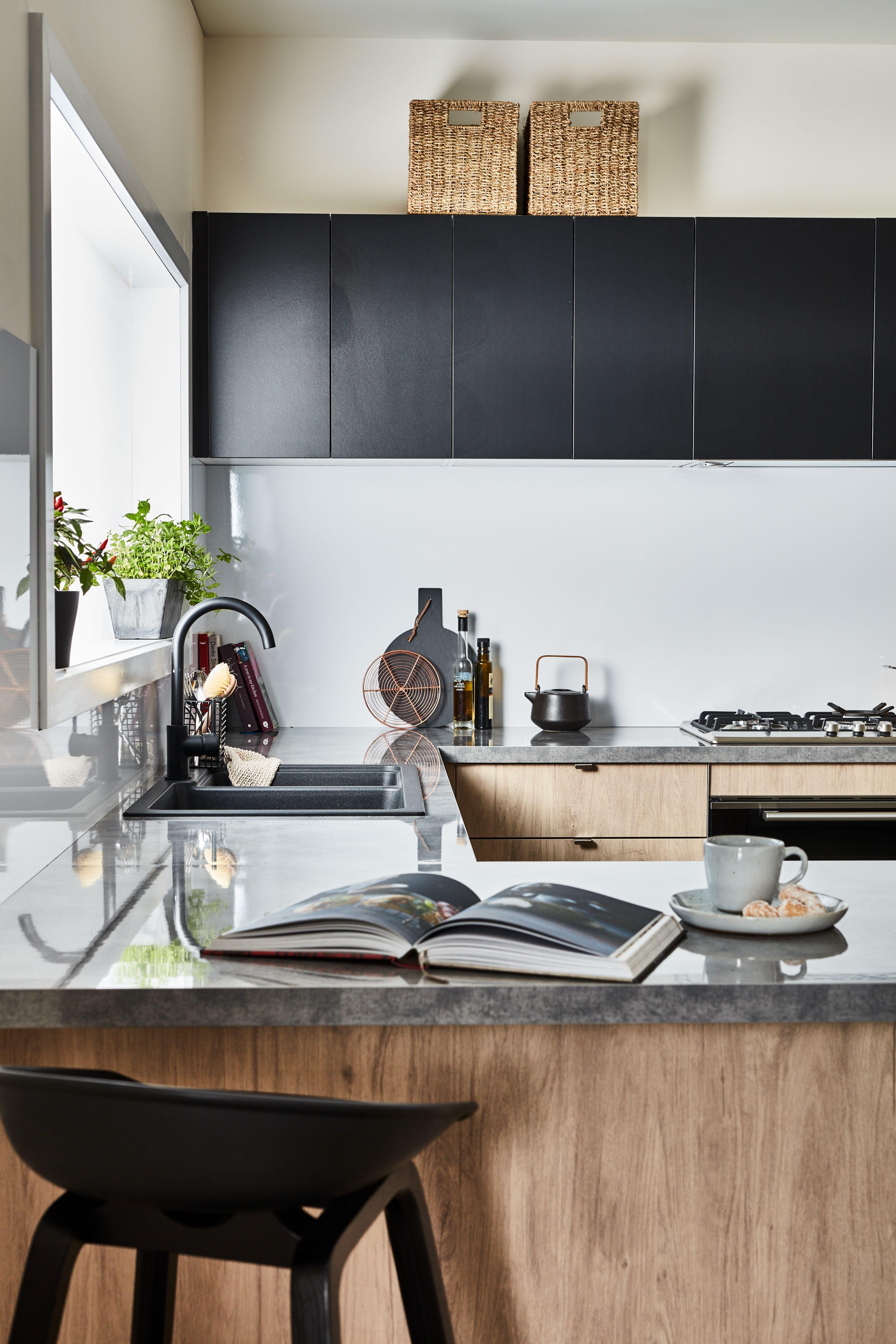 Industrial Kitchen Design Bunnings Kaboodlekitchen Kitchen Kitchen Cabinets For Sale Industrial Style Kitchen Kitchen Renovation