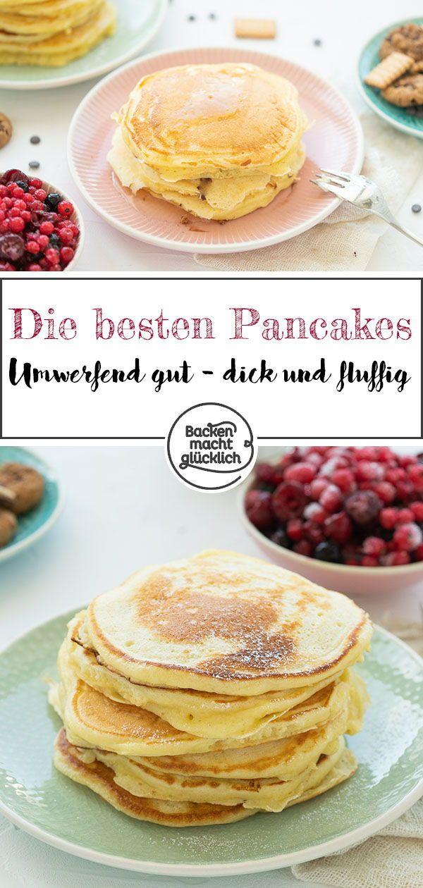 Die besten Pancakes (Grundrezept) | Backen macht glücklich