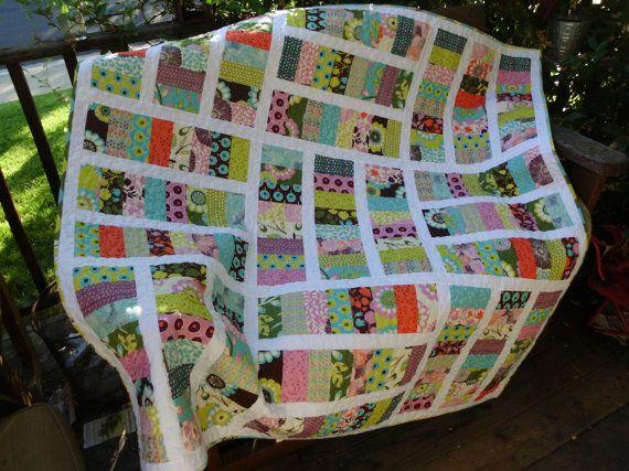Short stacks quilt by NannyGrans  - stunning!