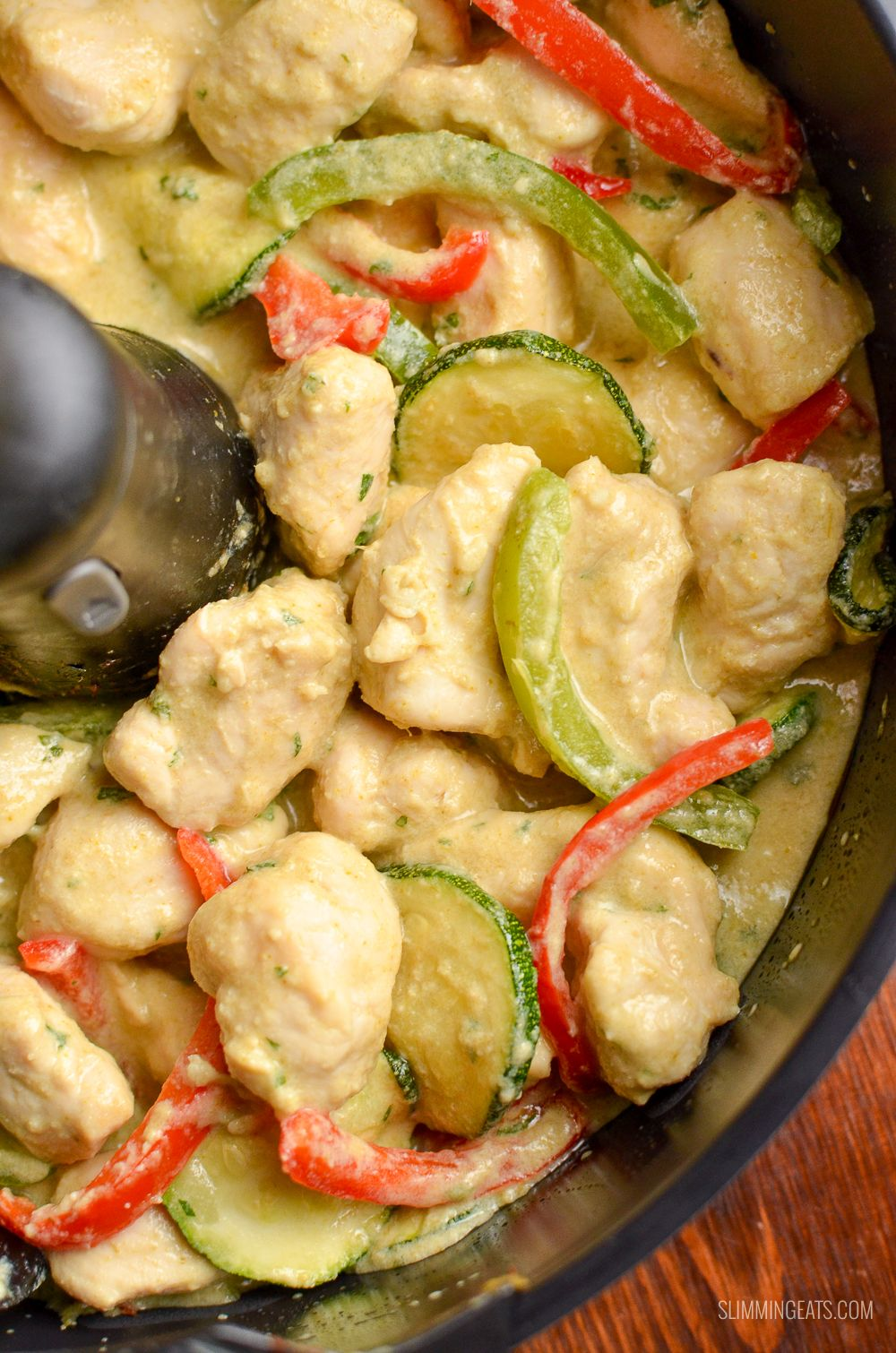 enjoy two delicious courses courtesy of tefal actifry spiced thai chicken curry and roast pineapple and mango delish actifry recipes tefal actifry actifry pinterest