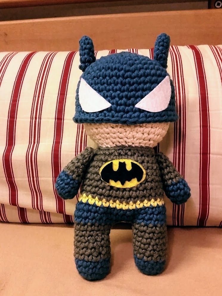 Amigurumi Batman! (Pattern includes also Spiderman and Superman ...