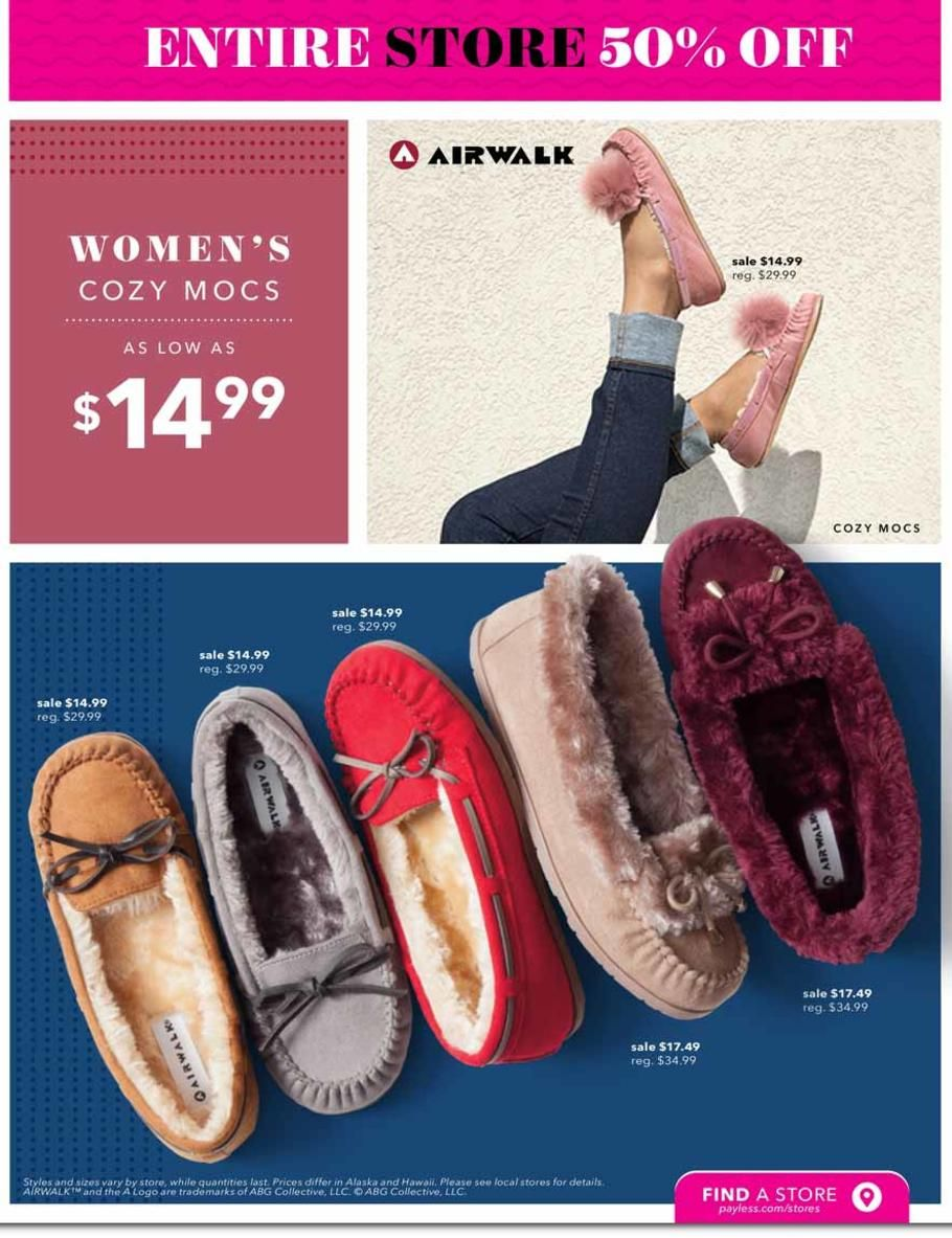 Payless Black Friday 2018 Ads and Deals