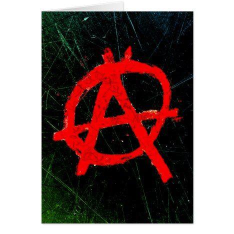 Grungy Red Anarchy Symbol Zazzle Com Anarchy Symbol Grungy Anarchy