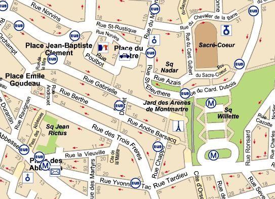 Dans la rue exercices pour demander son chemin ergo pinterest impressio - Quartier du sentier paris ...