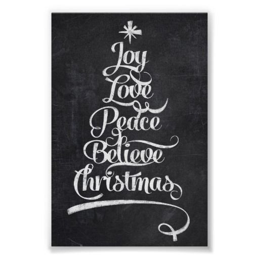 chalkboard christmas joy tree print nov 21 2x