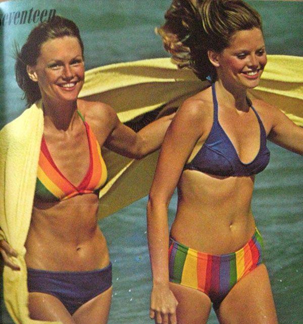 1974 Seventeen Magazine Swim Suits