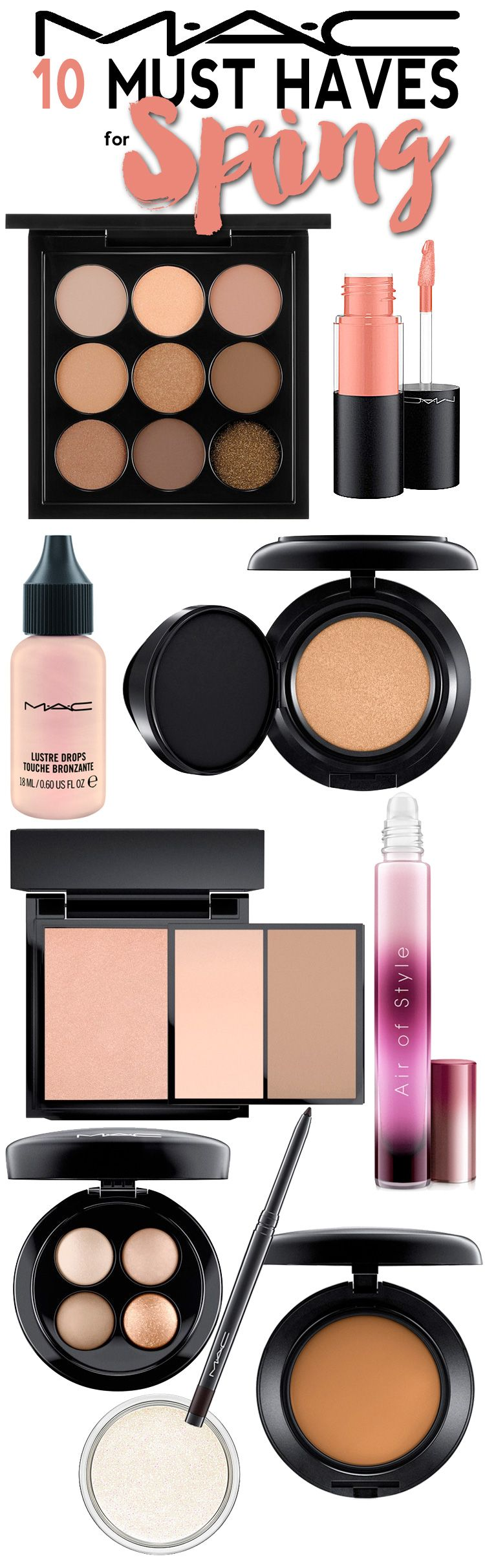 The Best 10 Mac Cosmetics Products For Spring Beautiful Makeup Search Smokey Eye Makeup Best Makeup Products Mac Must Haves
