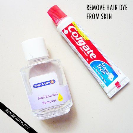 How To Remove Hair Dye From Skin The Indian Spot Hair Color Remover Hair Dye Removal Hair Removal