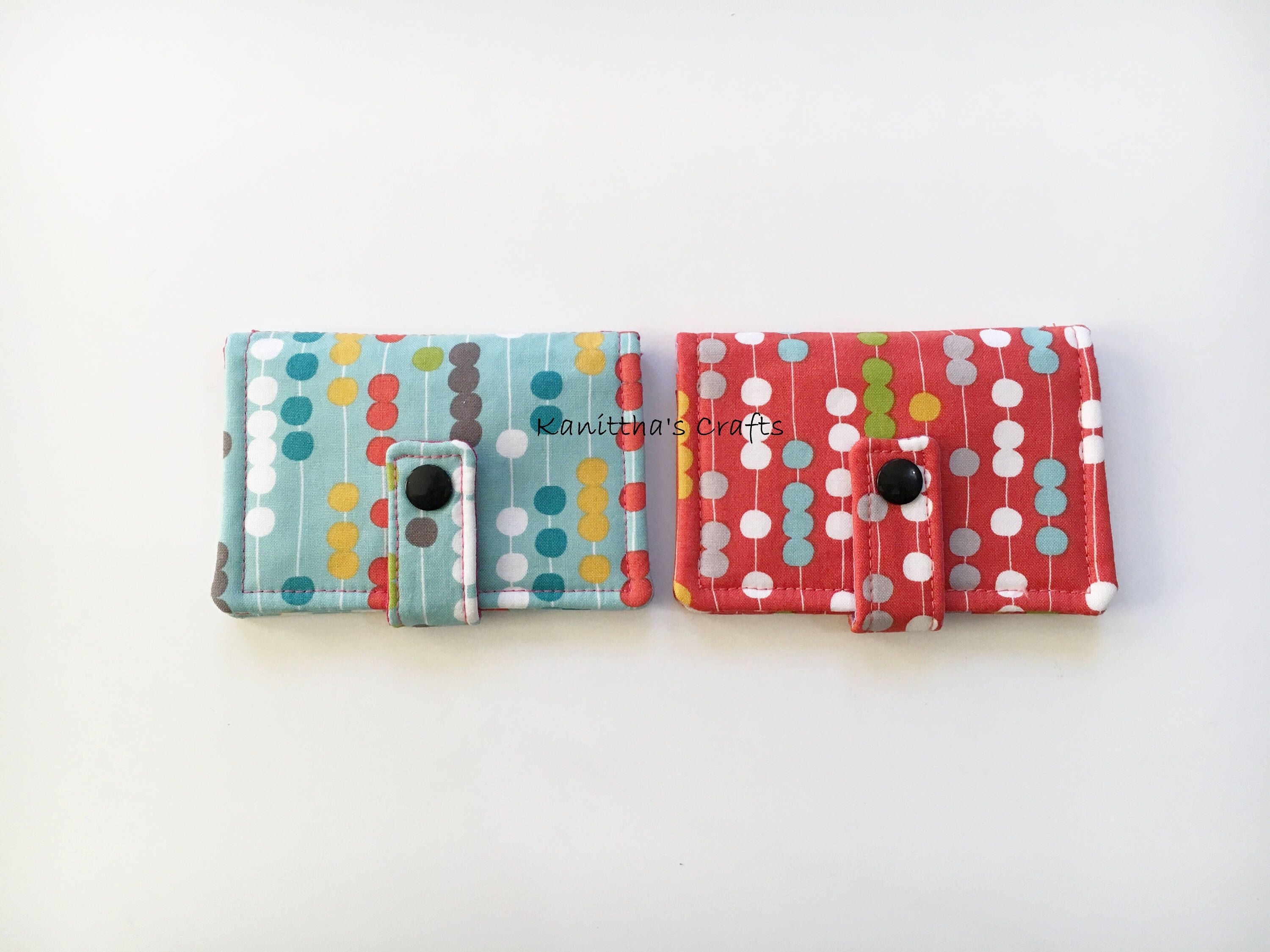 Mini card wallet,Credit card holder, Loyalty card holder,Mini card ...