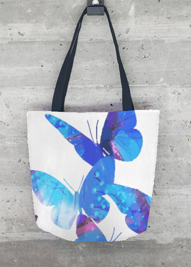 Tote Bag - Butterflies Tote Bag by VIDA VIDA