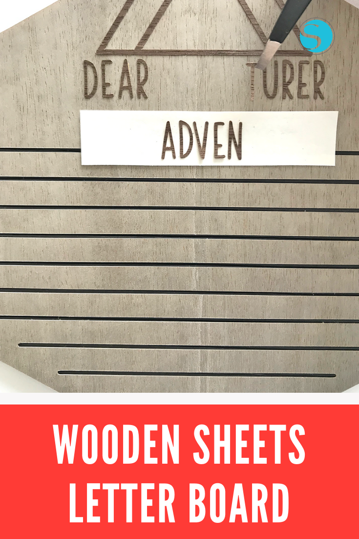 What If I Told You That You Could Make Wooden Style Signs Without Woodworking Tools Yes It S Totally Possible With Silhouett Lettering Wooden Good Luck Today