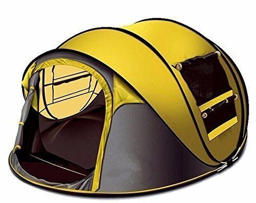 Star Home 4 Person Pop Up Tent Yellow Dispatched From UK u003eu003eu003e Want additional  sc 1 st  Pinterest & Star Home 4 Person Pop Up Tent Yellow Dispatched From UK u003eu003eu003e Want ...