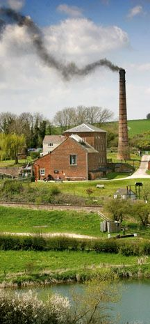 Crofton Pumping Station near Marlborough in Wiltshire. Lift water from Wilton Water to the summit level of Kennet & Avon Canal.