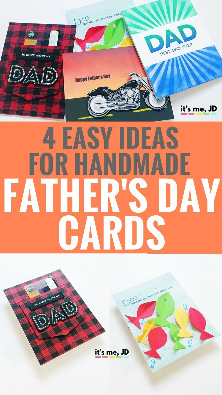 easy handmade fatherus day card ideas easy craft and diy ideas