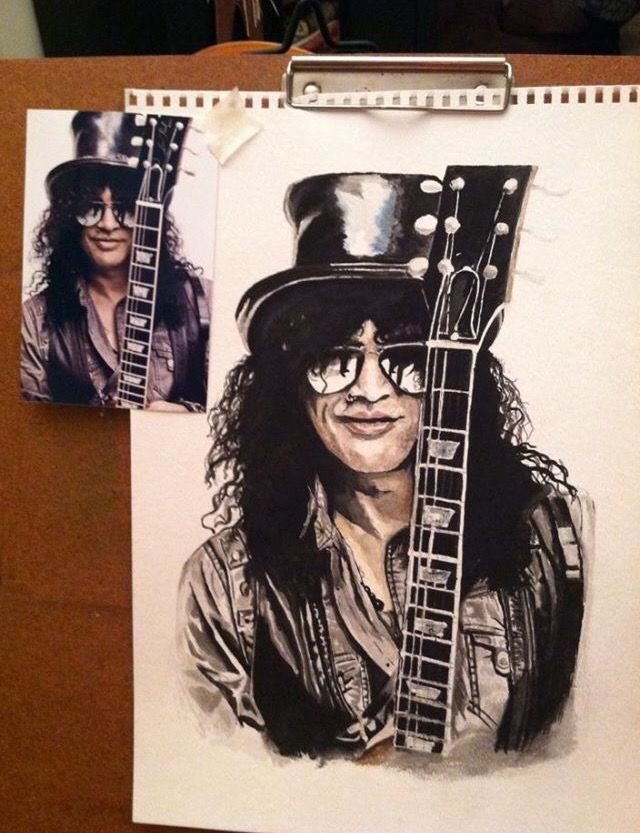 """""""Slash"""" photo off Internet. Given as a gift to our German exchange student."""