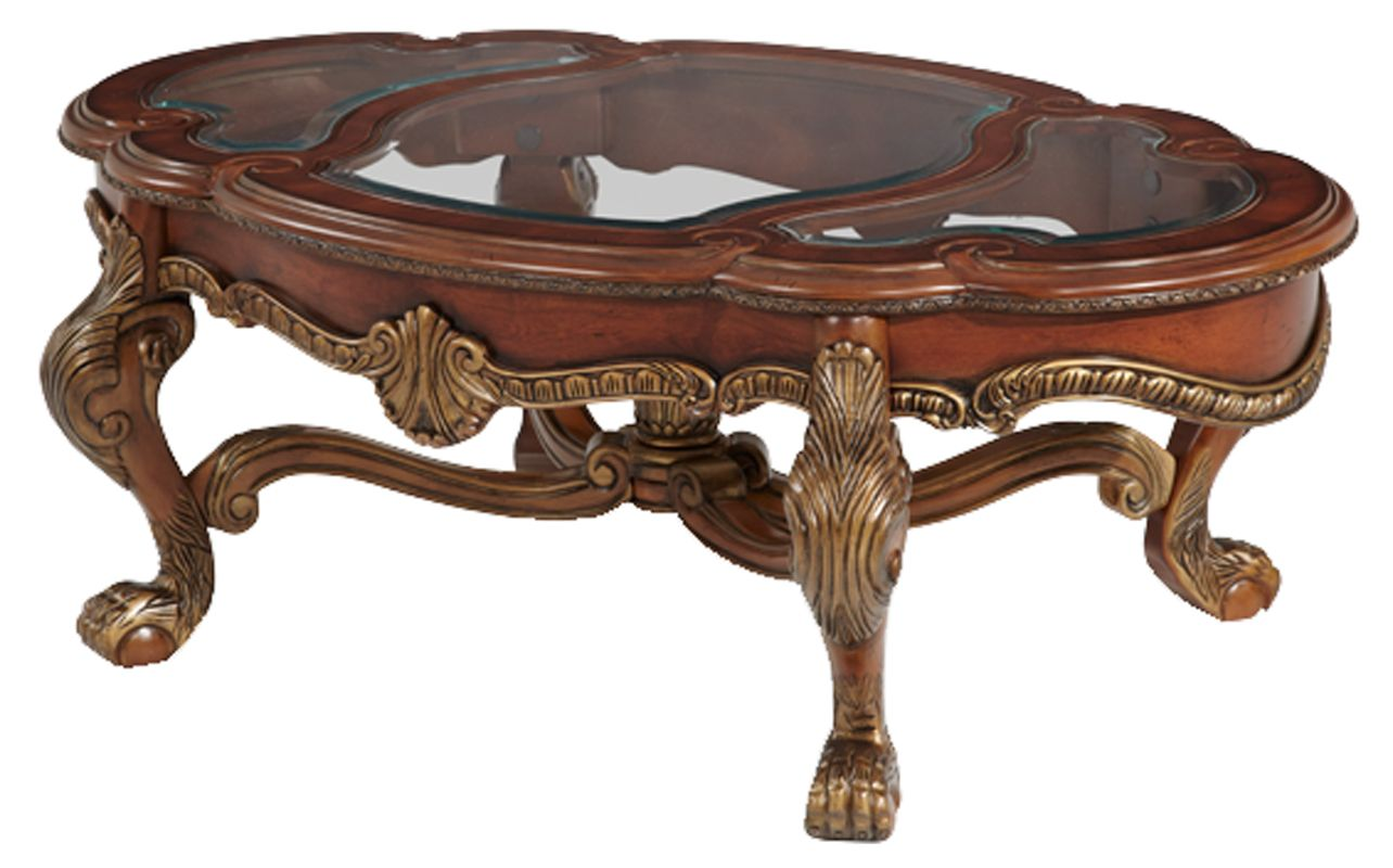 Carved wood coffee table Decor Pinterest