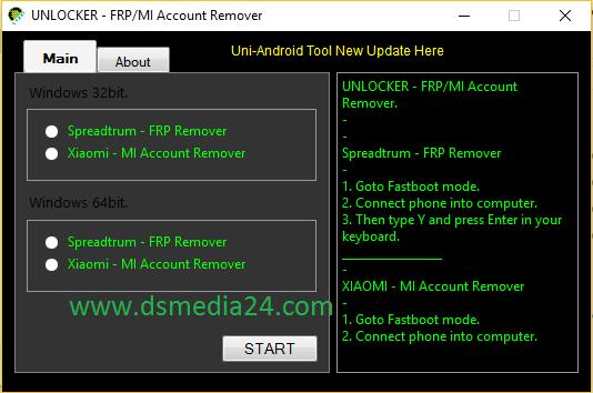 Download Unlocker FRP MI Account Remover How to remove