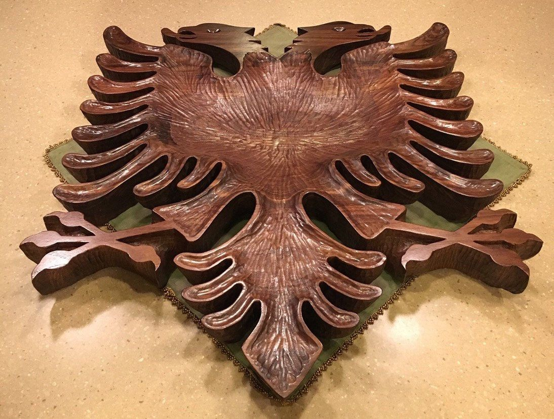 Pin By Java Woodworks On Albania Black Walnut Wood Hand Carved Rustic Wood Cross