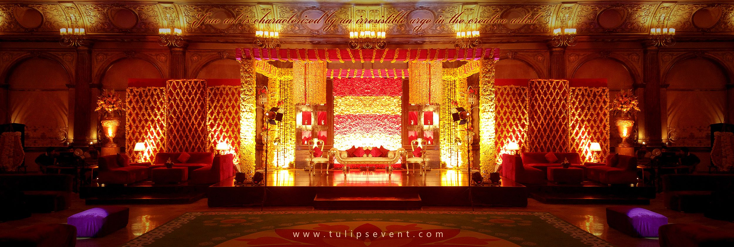 Grand Wedding Reception Stage Decor Perks in Lahore Pakistan