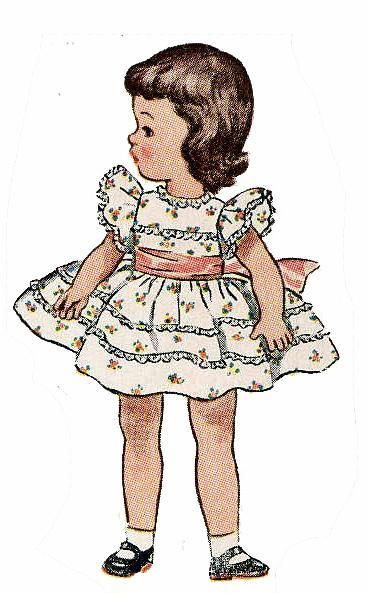 be6c547da 3728 Doll Clothes Pattern for 21