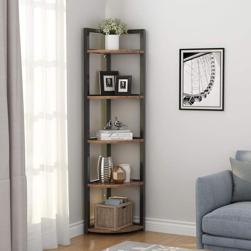 38+ Farmhouse corner bookcase inspiration