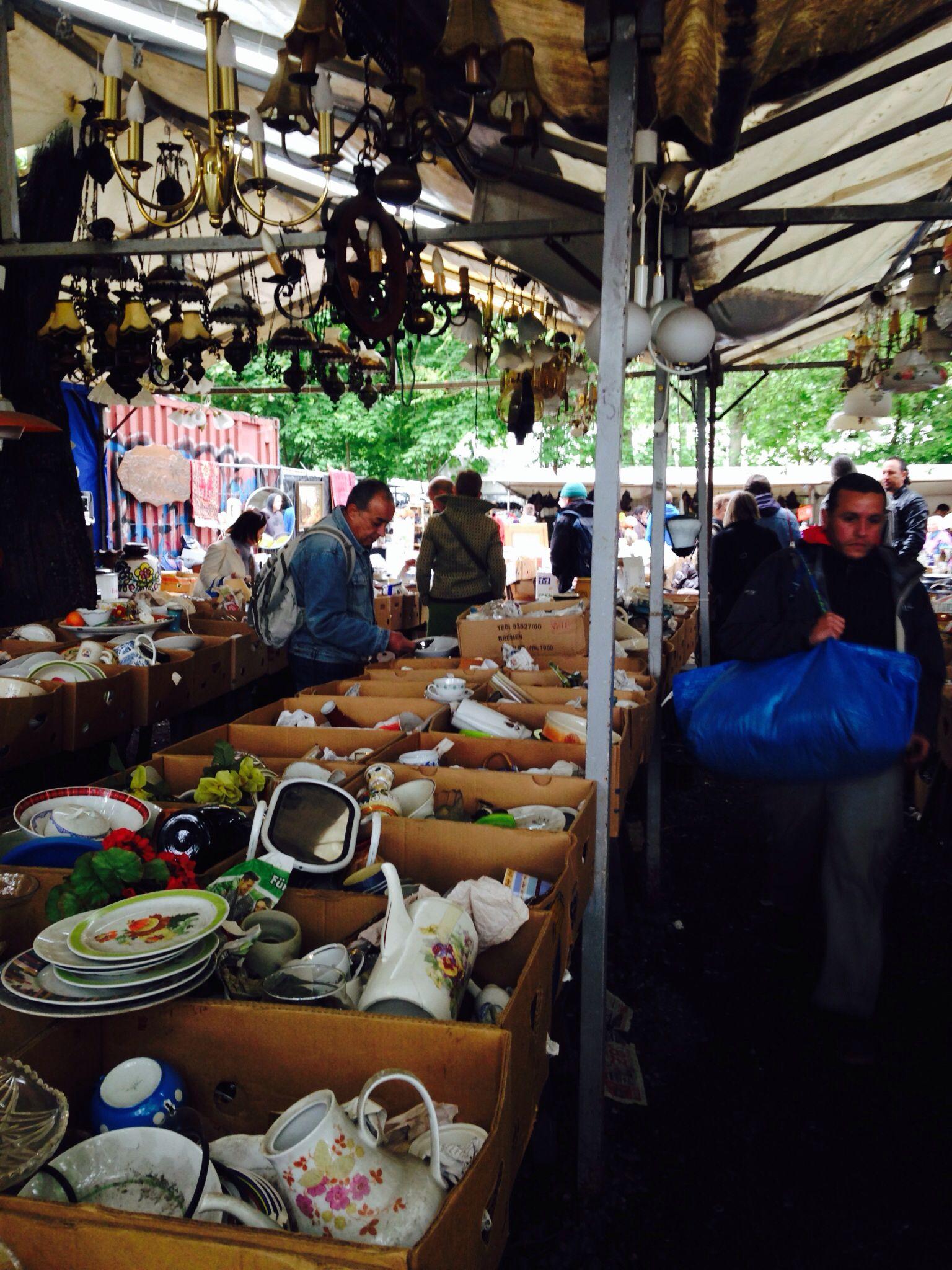 Mauer park flea market every Sunday.
