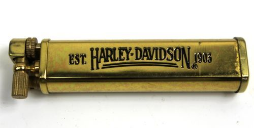Harley Davidson Casablanca Brass WWI Trench Lighter Hidden