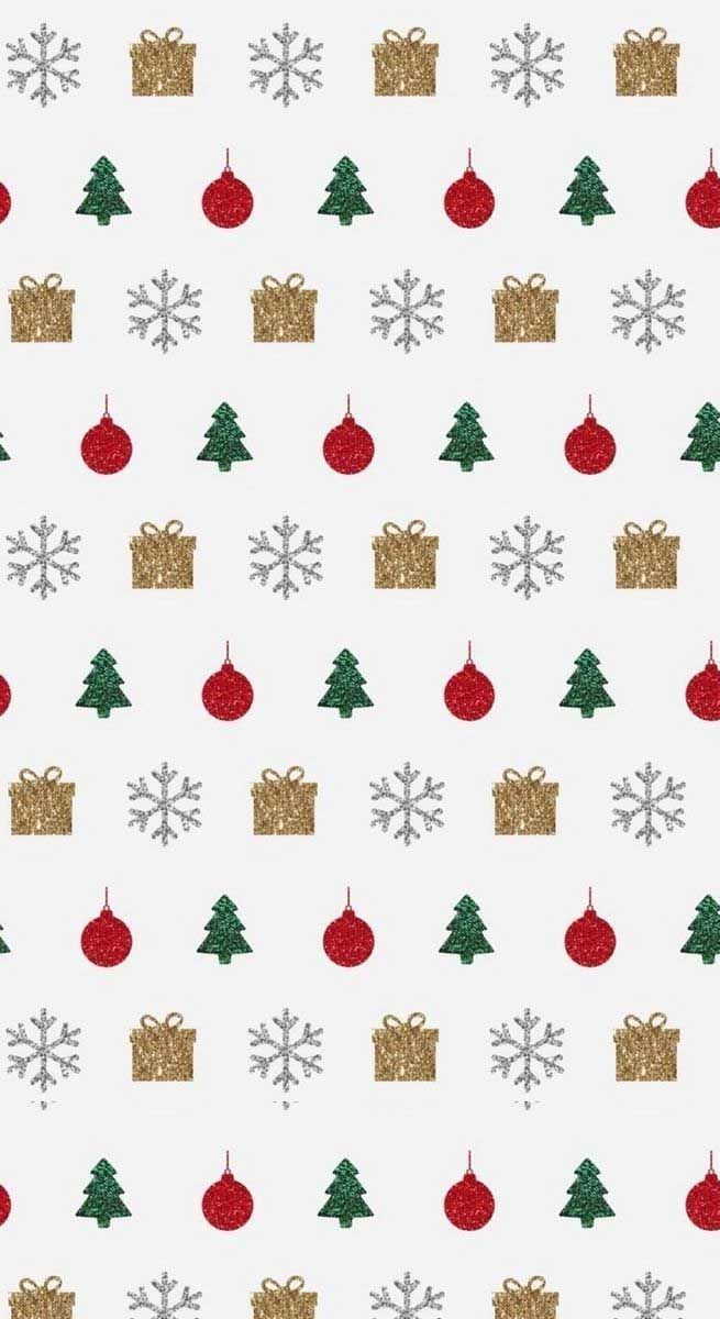 Christmas Illustrations Gold Red And Green Idea Wallpapers Iphone Wallpa Christmas Tree Wallpaper Iphone Wallpaper Iphone Christmas Iphone Wallpaper Winter