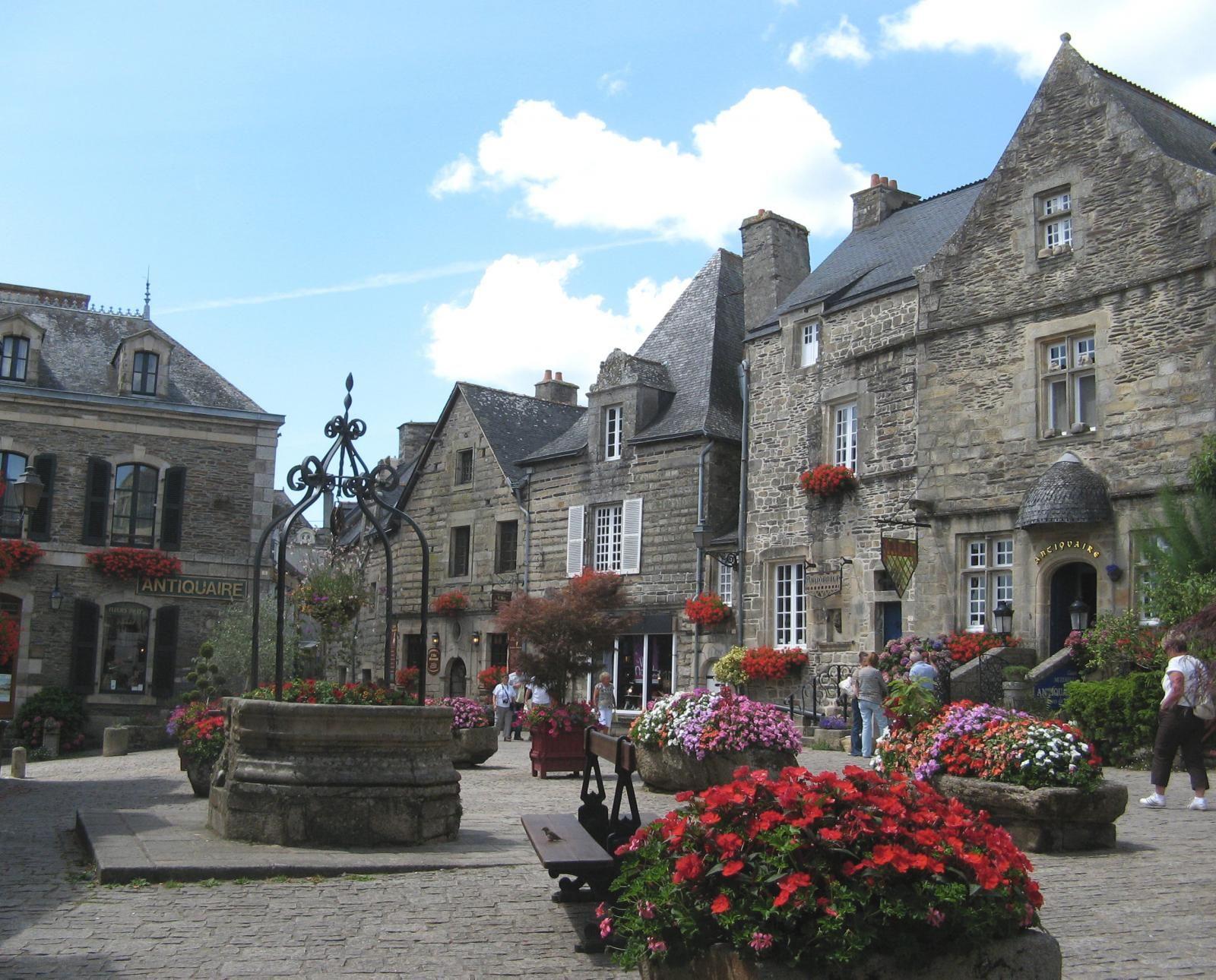 Rochefort en Terre Vannes Morbihan Bretagne France
