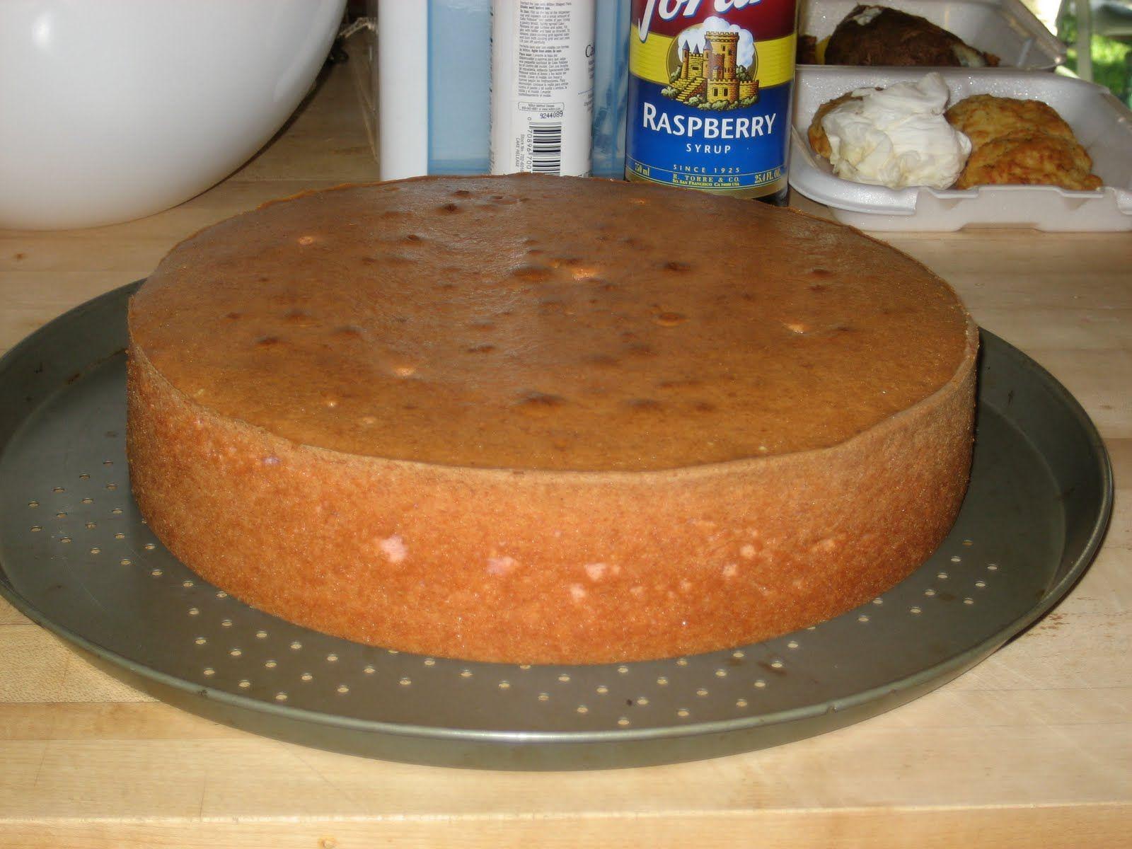 Original White Almond Sour Cream WASC Cake