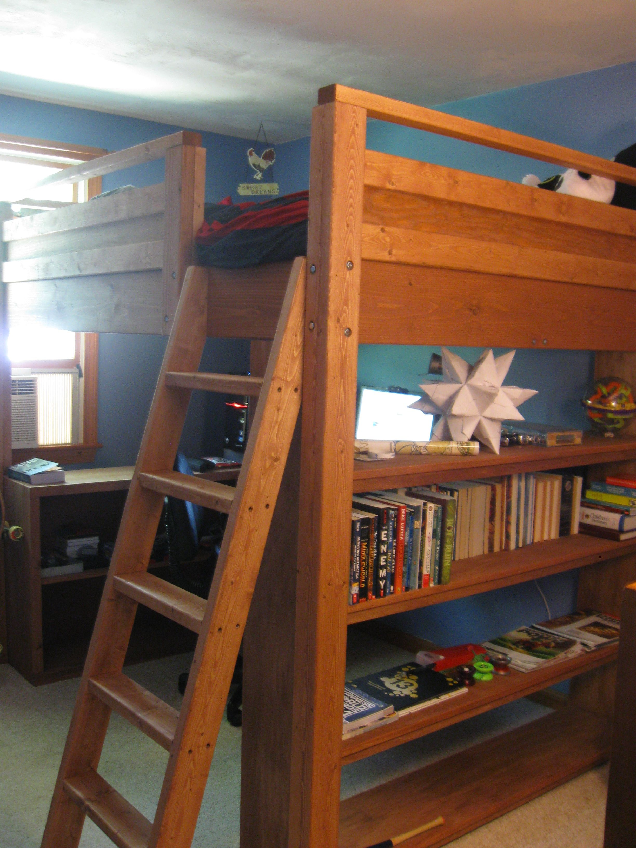 Twin loft bed craigslist  The loft bed we ended up having custom built for a fraction of the