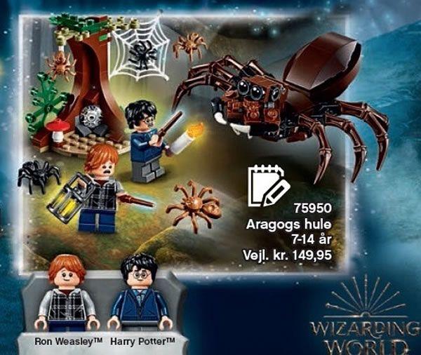 catalogue noel 2018 lego LEGO Harry Potter 75950 Aragog's Lair : premier visuel | LEGO  catalogue noel 2018 lego